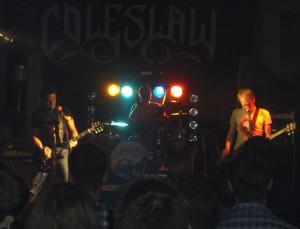 COLESLAW & KRUCIPÜSK ON TOUR 2011 - 2012